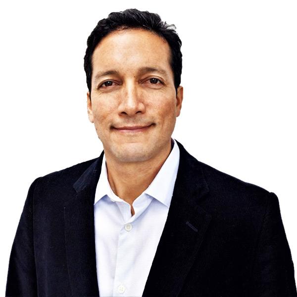 Carlos Niezen, directeur d'Allpampa, vente d'aliments biologiques et issus u commerce équitable en provenance d'Amérique latine.