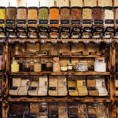 Vente en vrac, Allpampa, produits alimentaires biologiques et équitables, en vrac ou sachet, en provenance d'Amérique latine