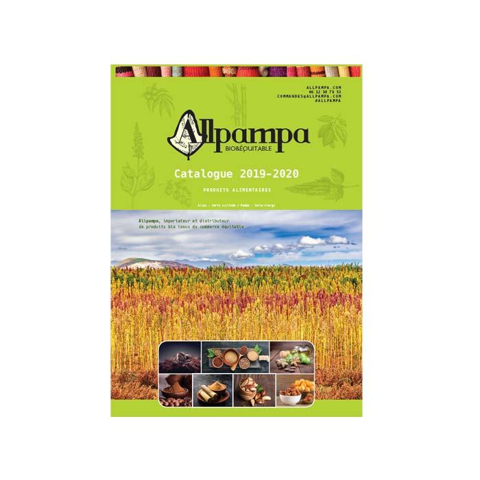 Catalogue Allpampa, produits alimentaires biologiques et équitables, en vrac ou sachet
